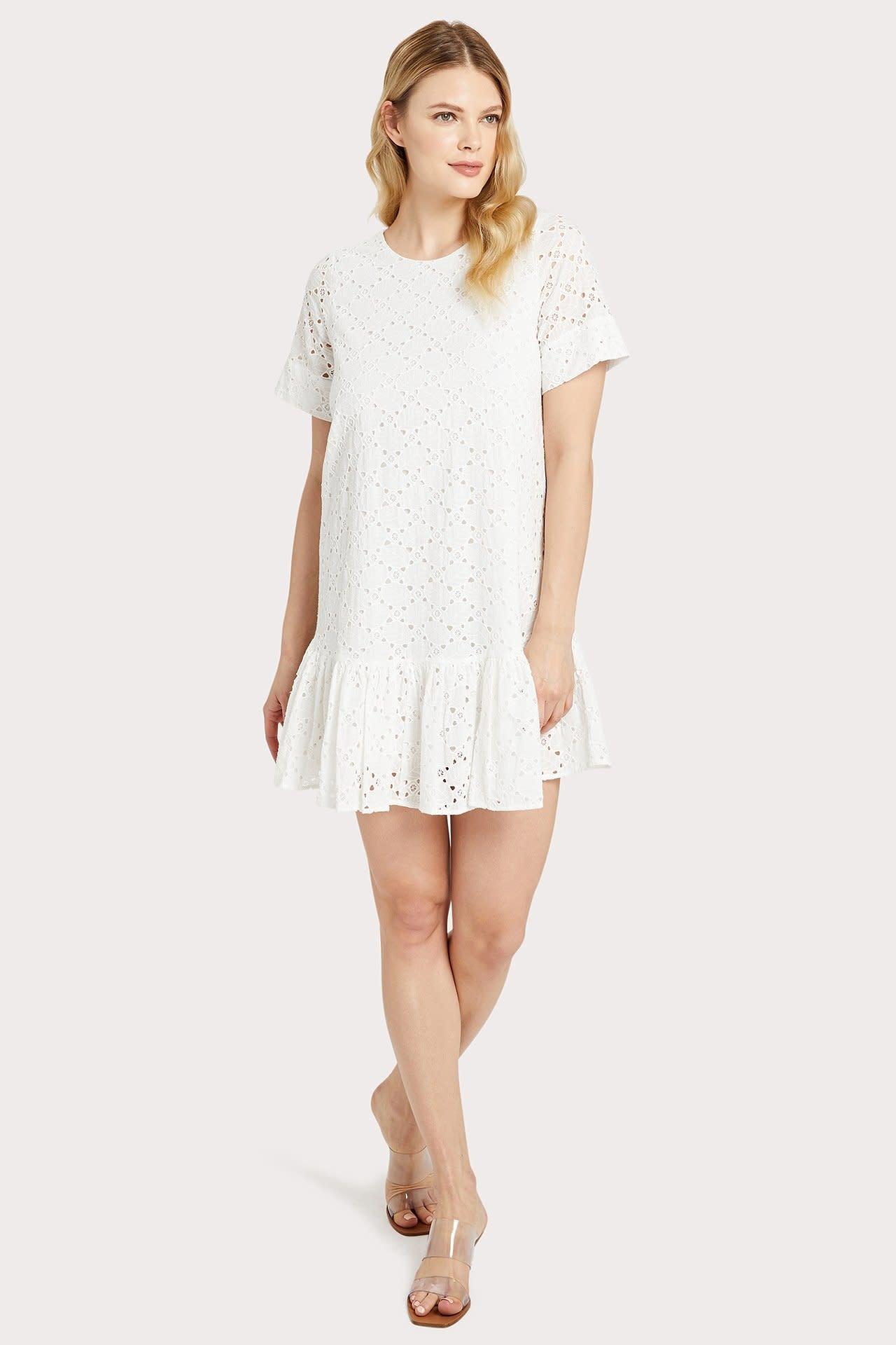 Milly Cece Eyelet Dress