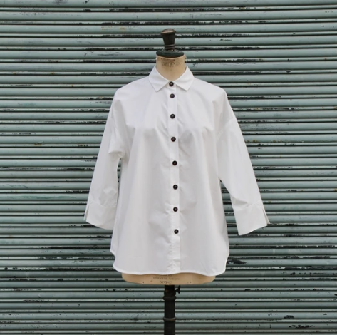 Humility 3/4 Sleeve Button Down