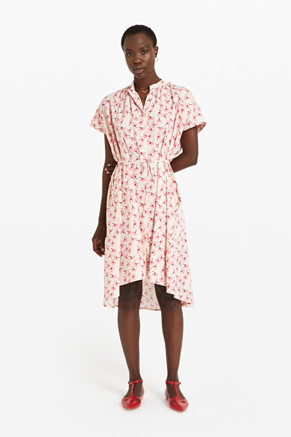 Ottod'Ame Dress W/ Drawstring