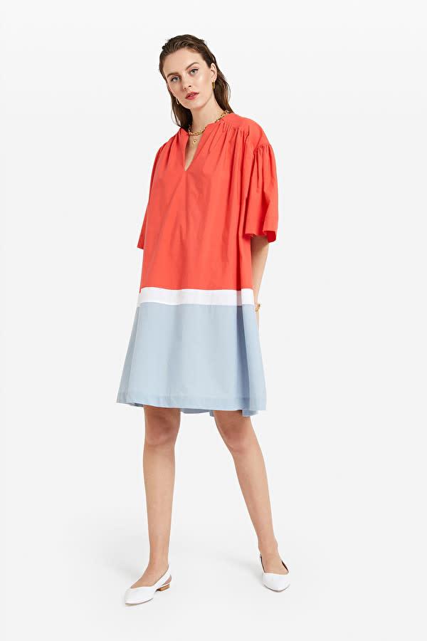 Ottod'Ame Poplin Mini Dress
