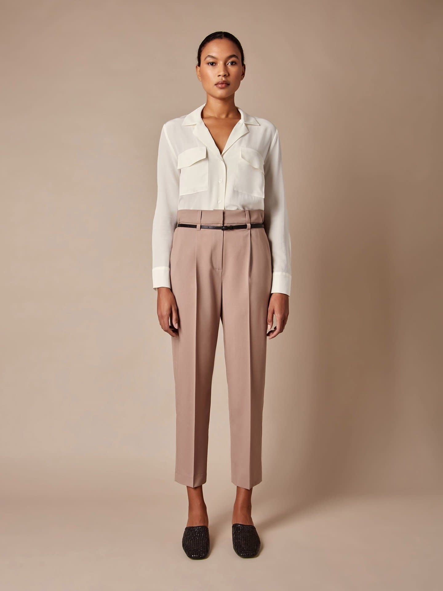 Judith & Charles Chartres Pant - Size 8