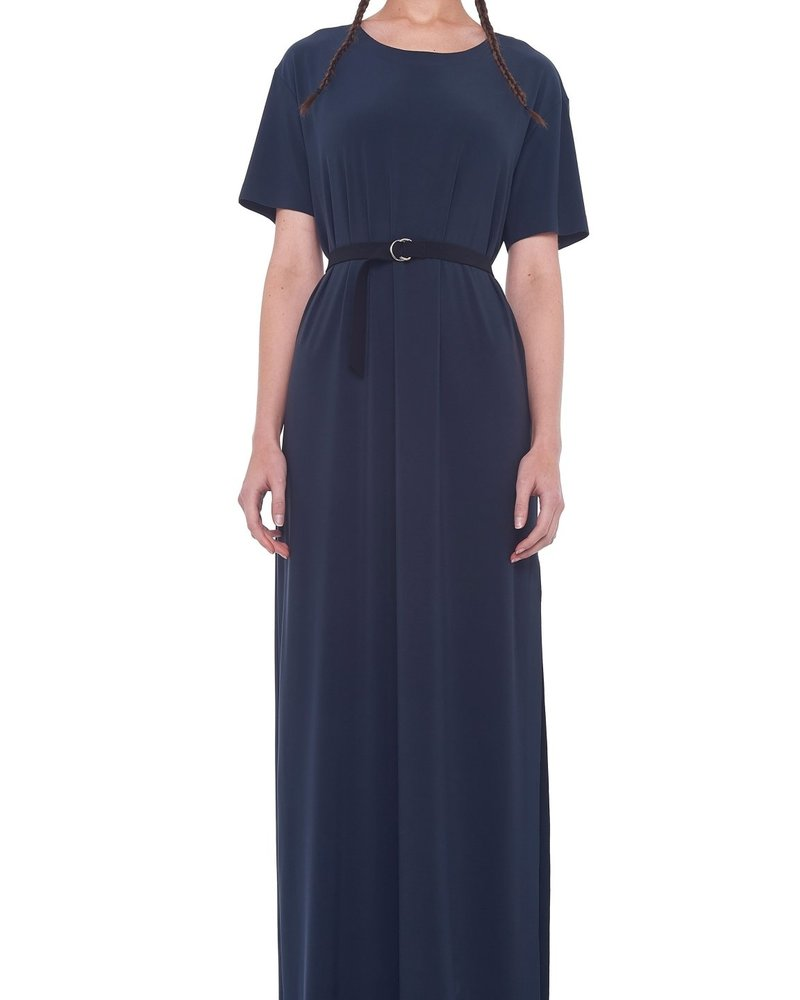 Norma Kamali Boxy Tee Maxi Dress