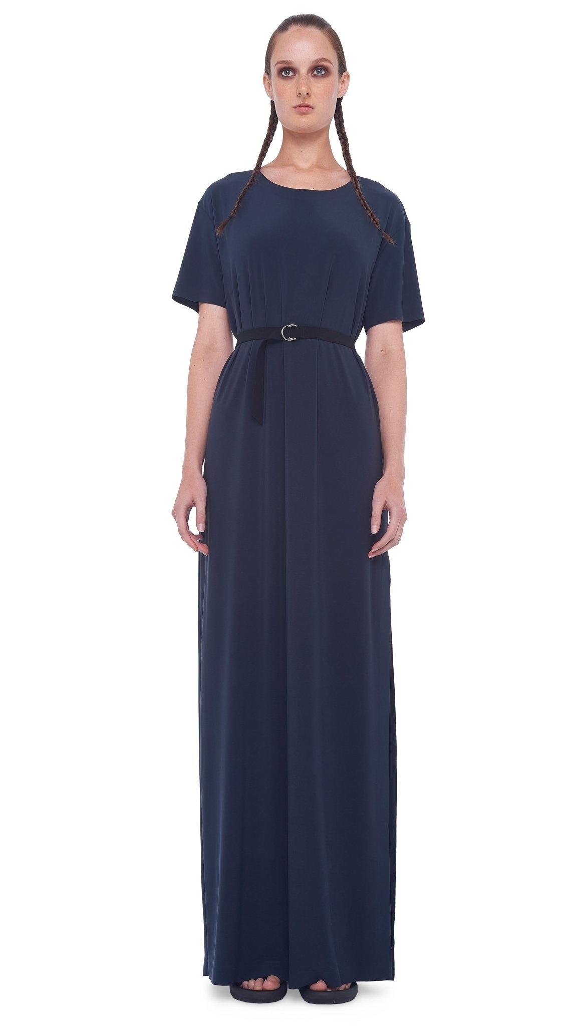 Norma Kamali Boxy Tee Maxi Dress