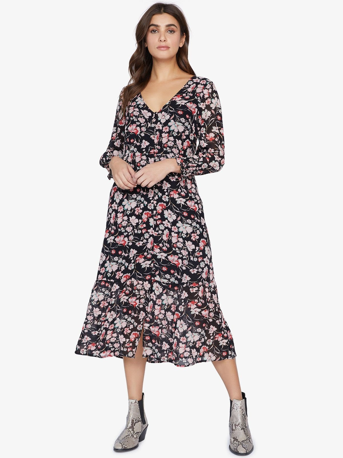 Sanctuary Fontana Midi Dress