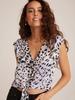 Bella Dahl Tie Front Top - Size S