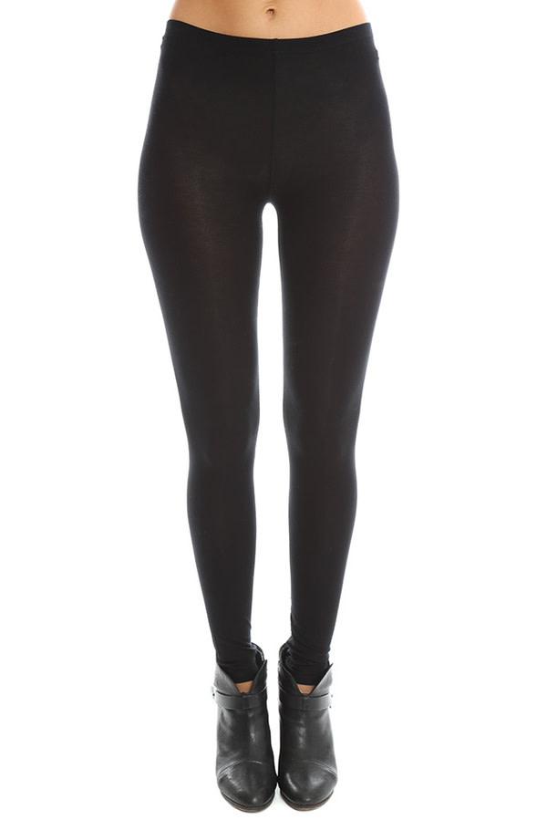 Majestic *Long Legging Black/1