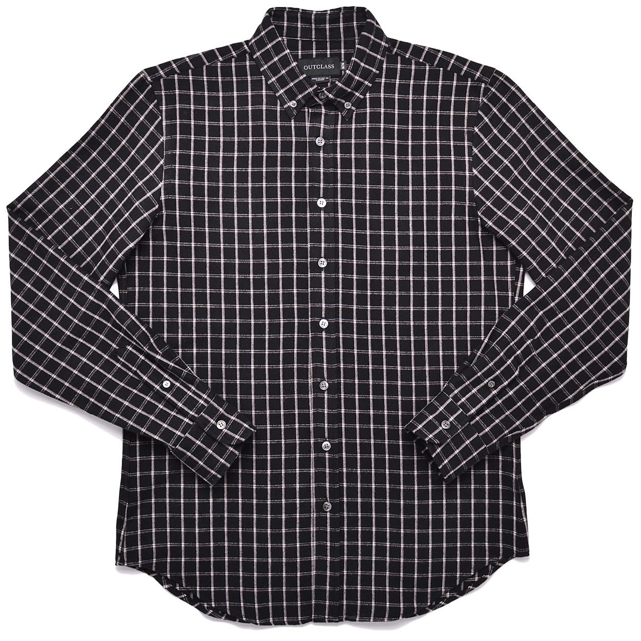 Outclass Wool Blend Flannel Shirt