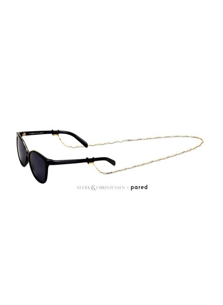 Pared Eyewear Swallow Sunglasses Black/Gold