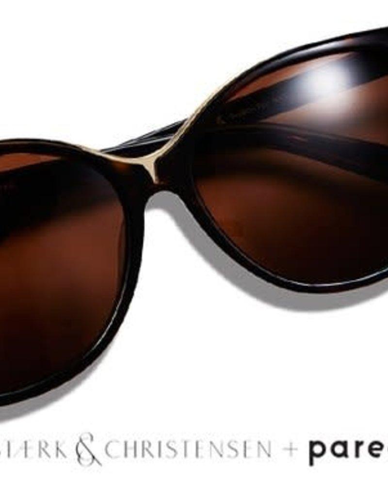 Pared Eyewear Swallow Sunglasses Black/Gold