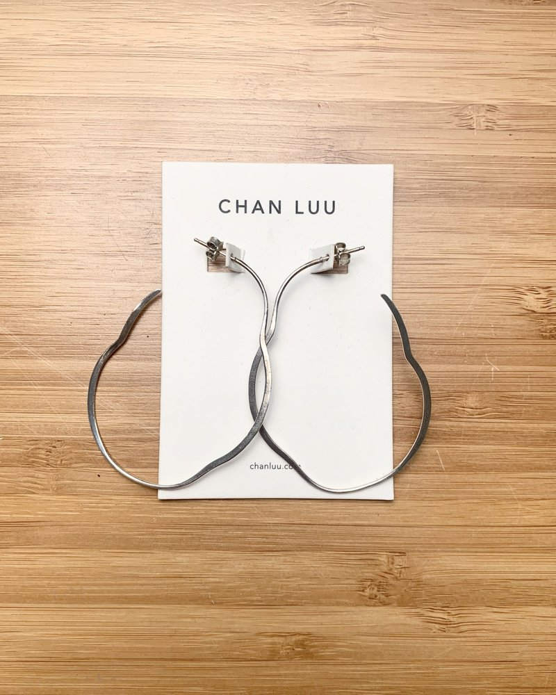 Chan Luu Big Silver Matisse Hoops