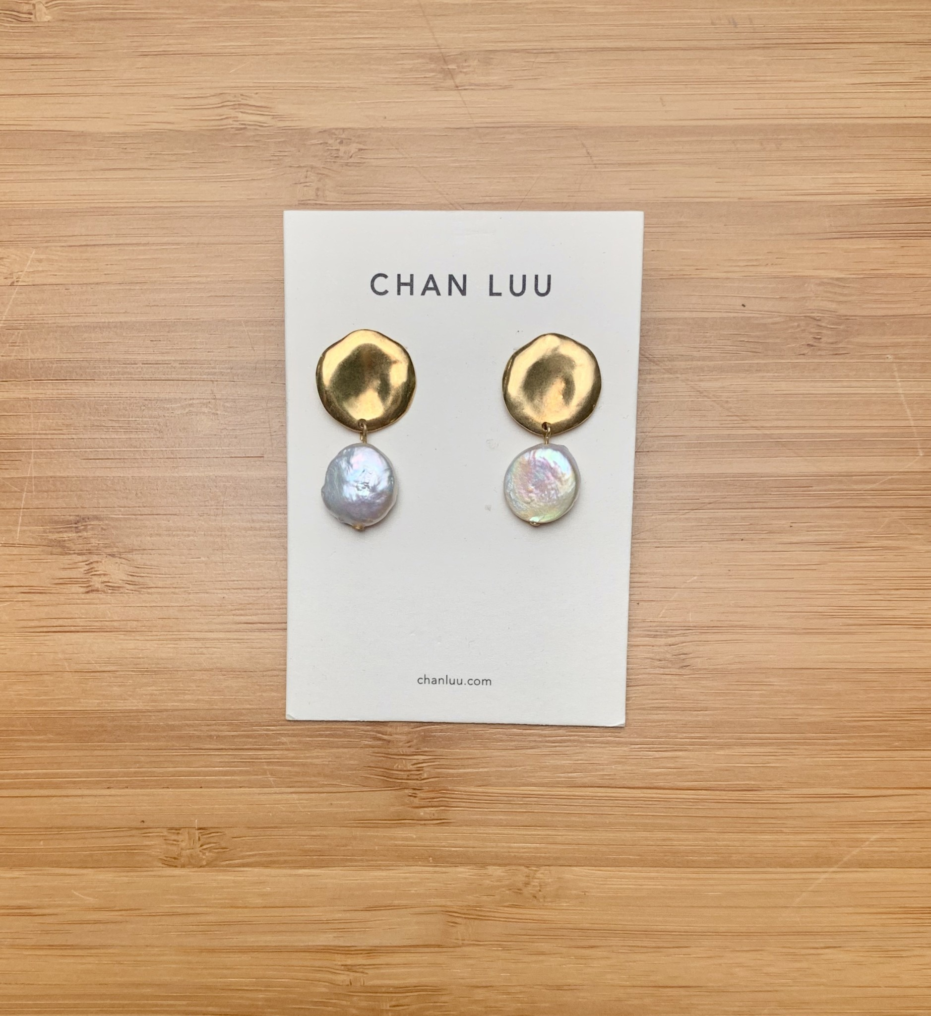 Chan Luu Keshi Pearl Earrings
