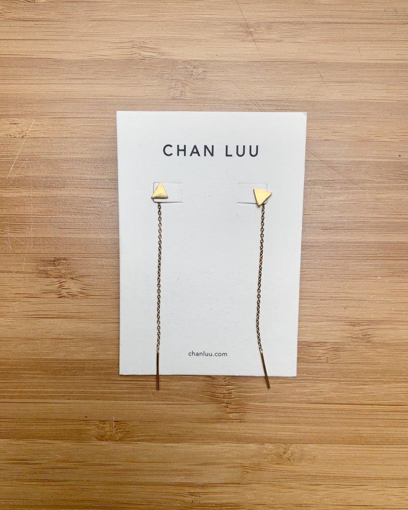 Chan Luu Triangle Thread Thru Gold