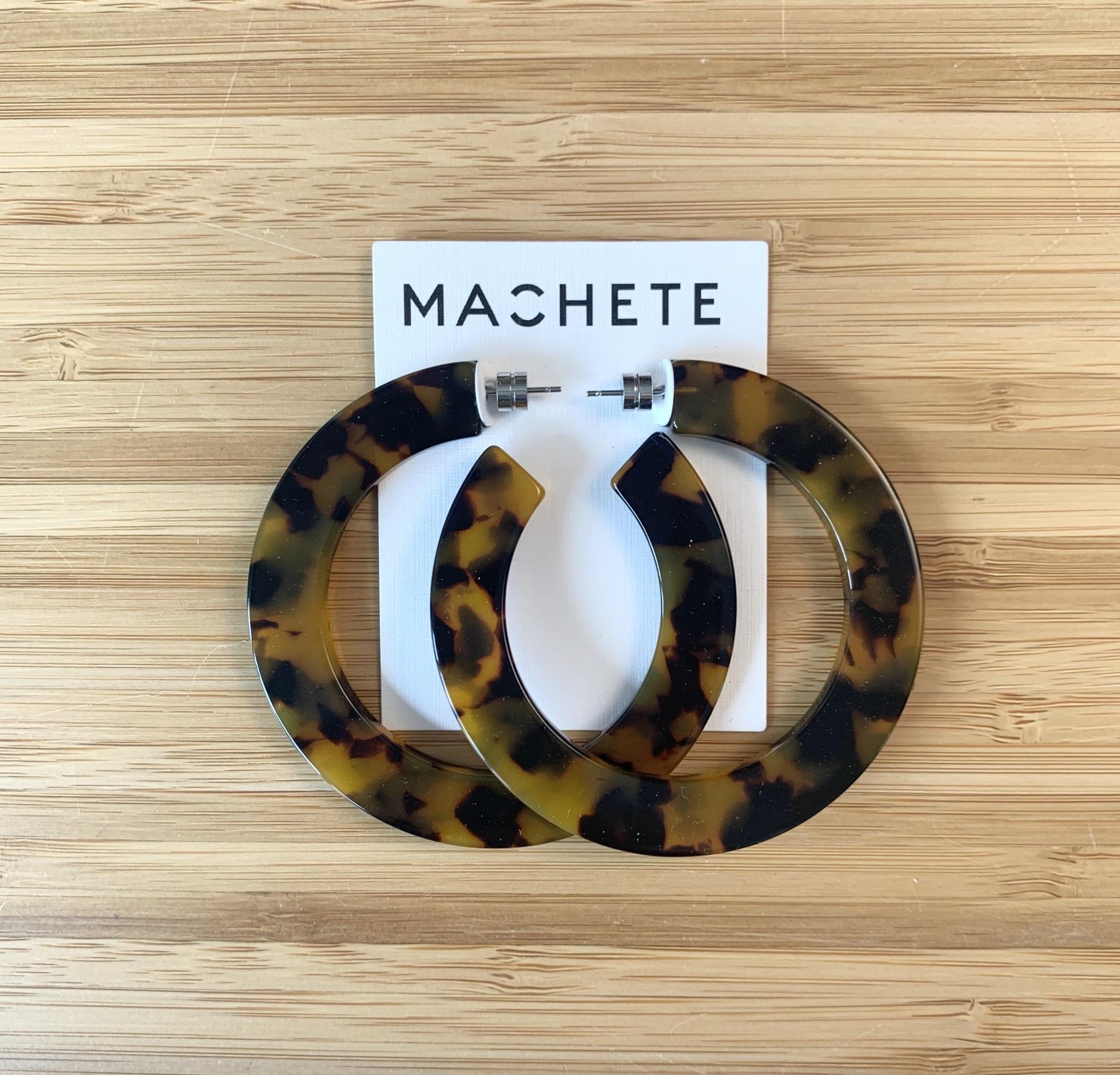 Machete Grande Flat Hoops