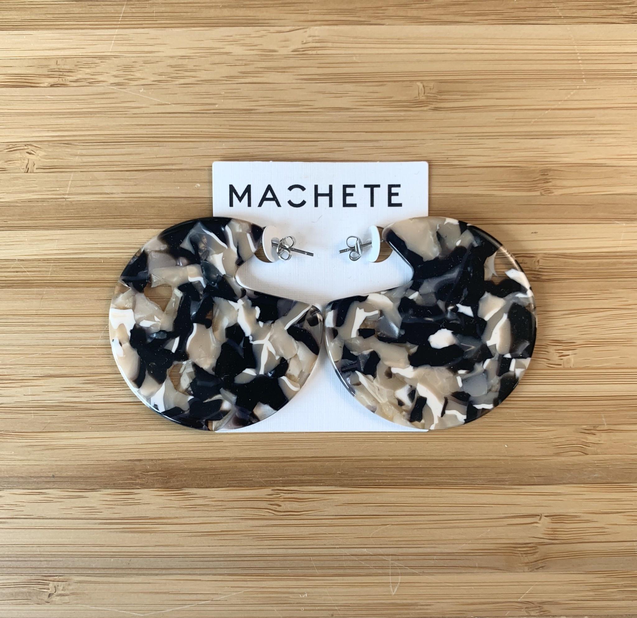 Machete Claire Earrings Abalone