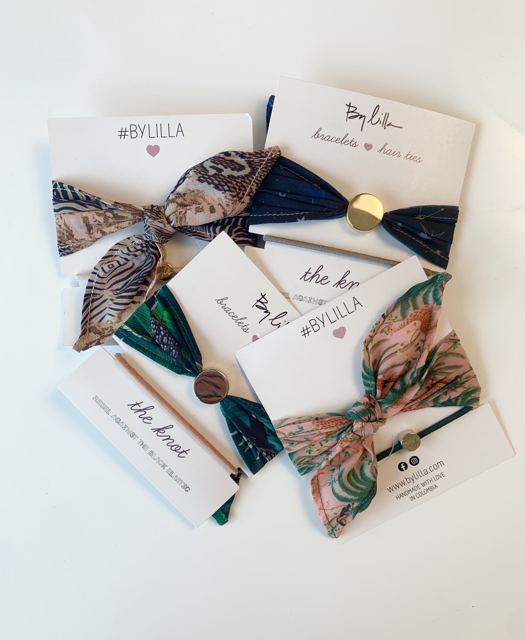 By Lilla The Knot Elastic (Assorted)