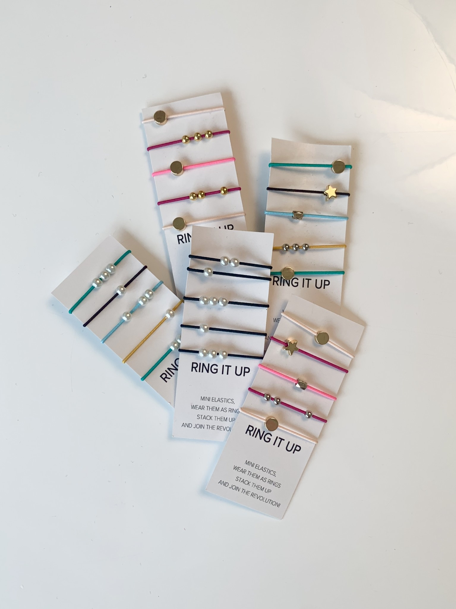 By Lilla Ring Elastic Stack (Assorted)