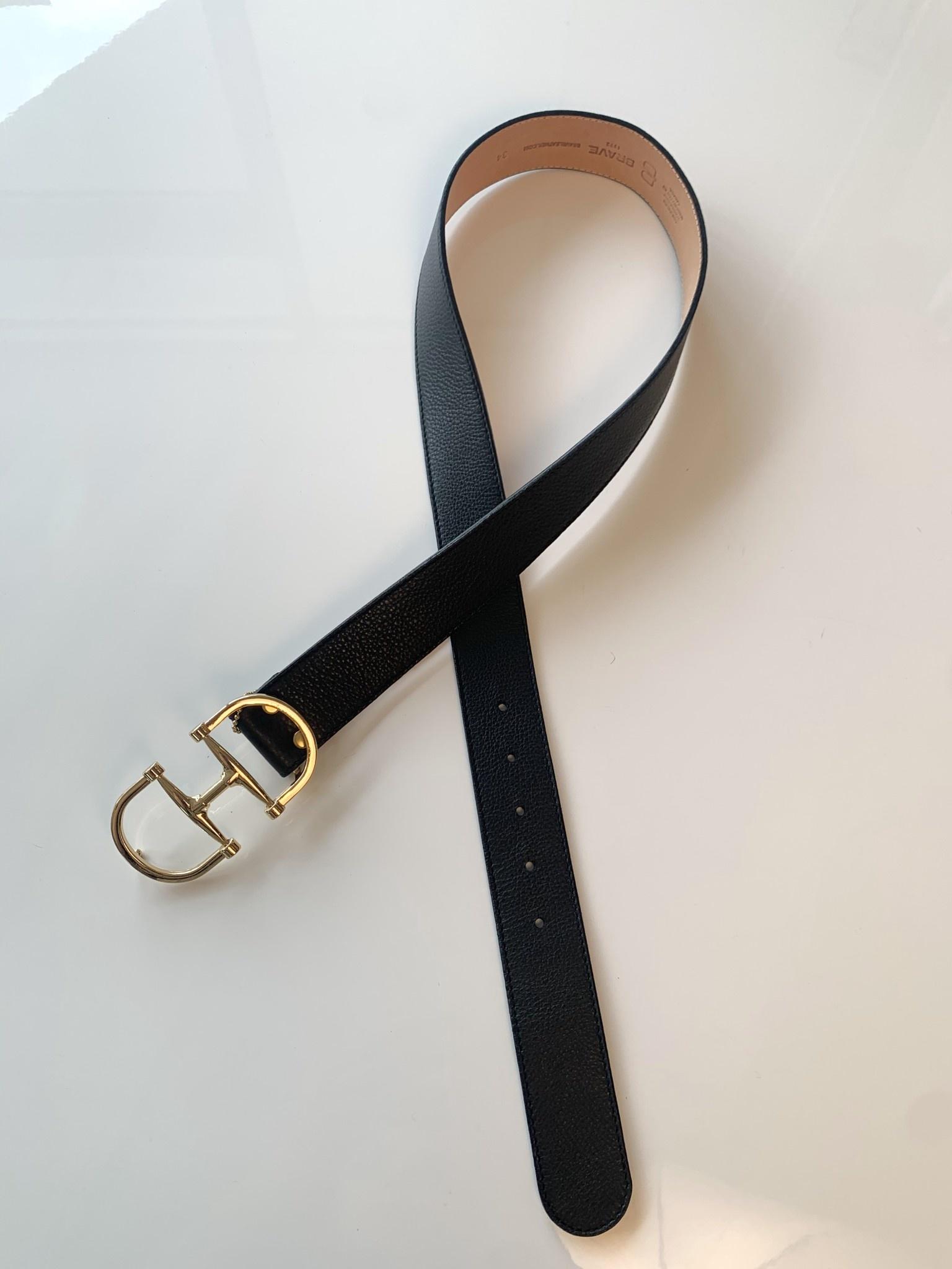 Brave Leather Kasi Belt Black/32
