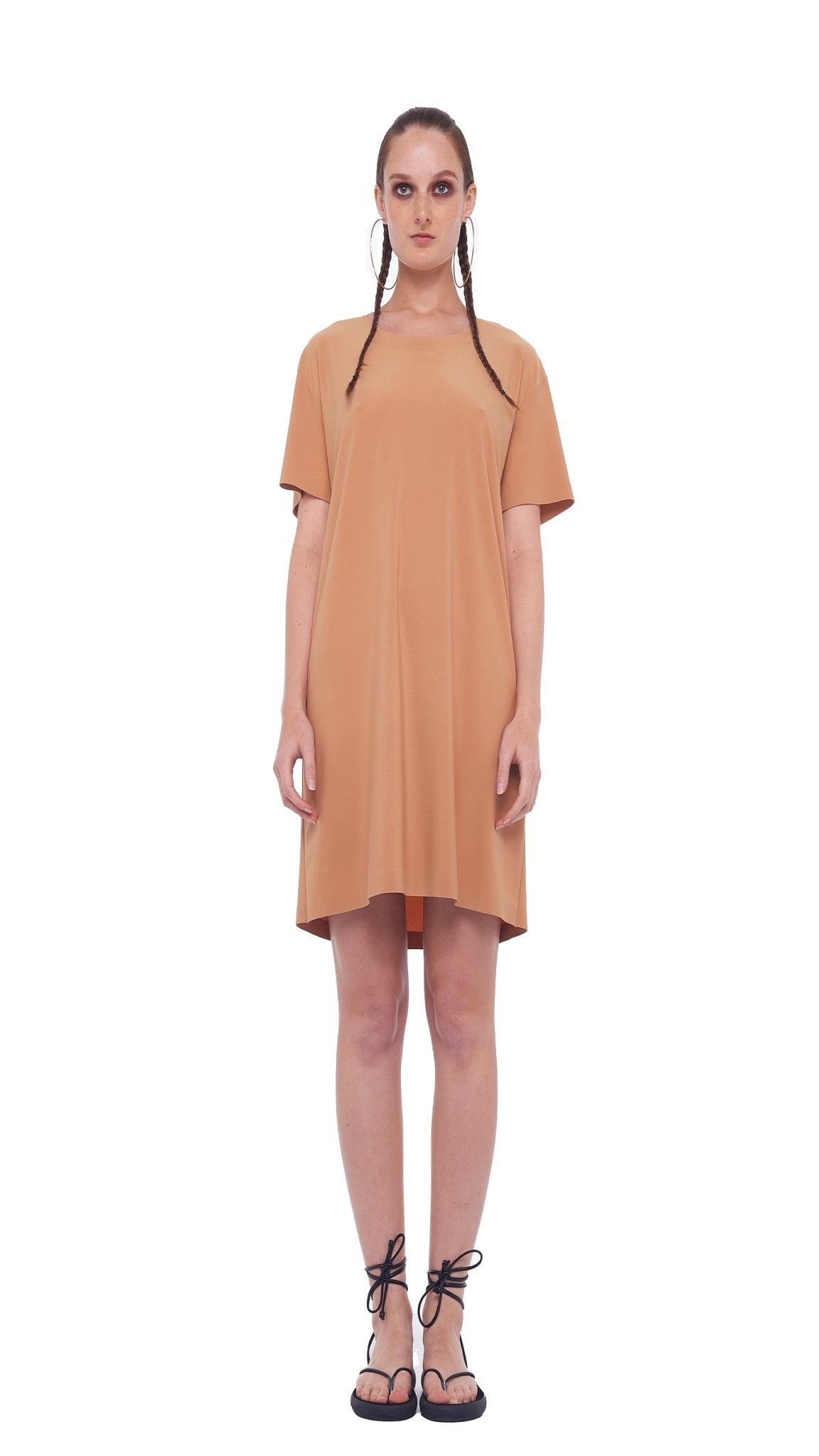 Norma Kamali Boxy Tee Dress