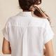 Bella Dahl Capsleeve Tie Front Shirt