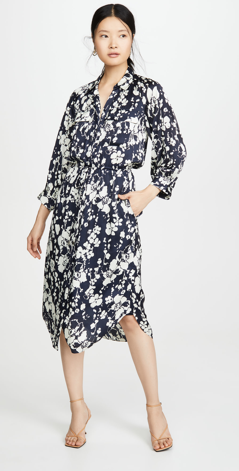 Joie Emmalynn Dress - Midnight/L