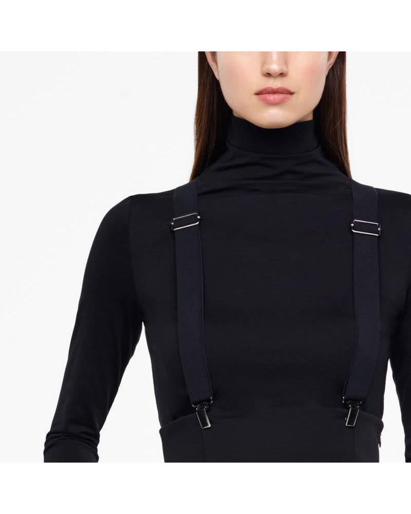 Sarah Pacini *High Waist Suspender Pant - Size 3