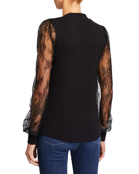 Generation Love *Mara Lace Top