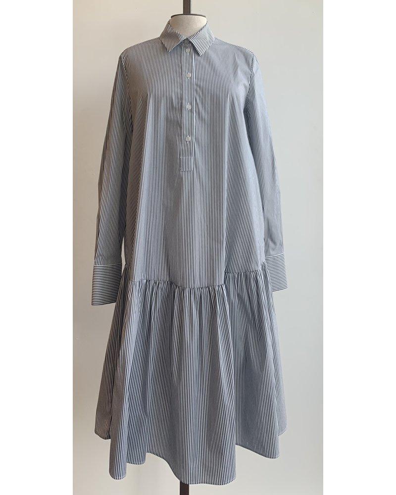 Ottod'Ame Mini Dress W/ Ruffle Bottom