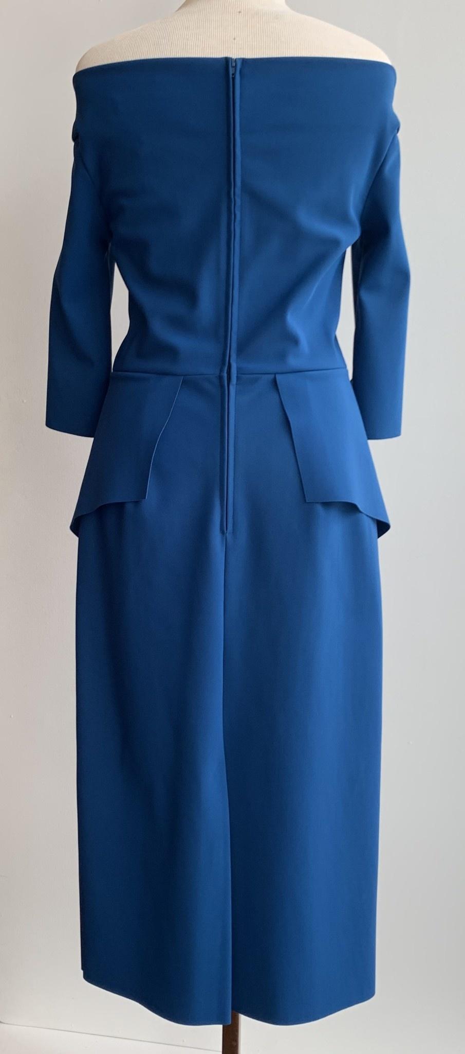 Greta Constantine Edwina Peplum Dress