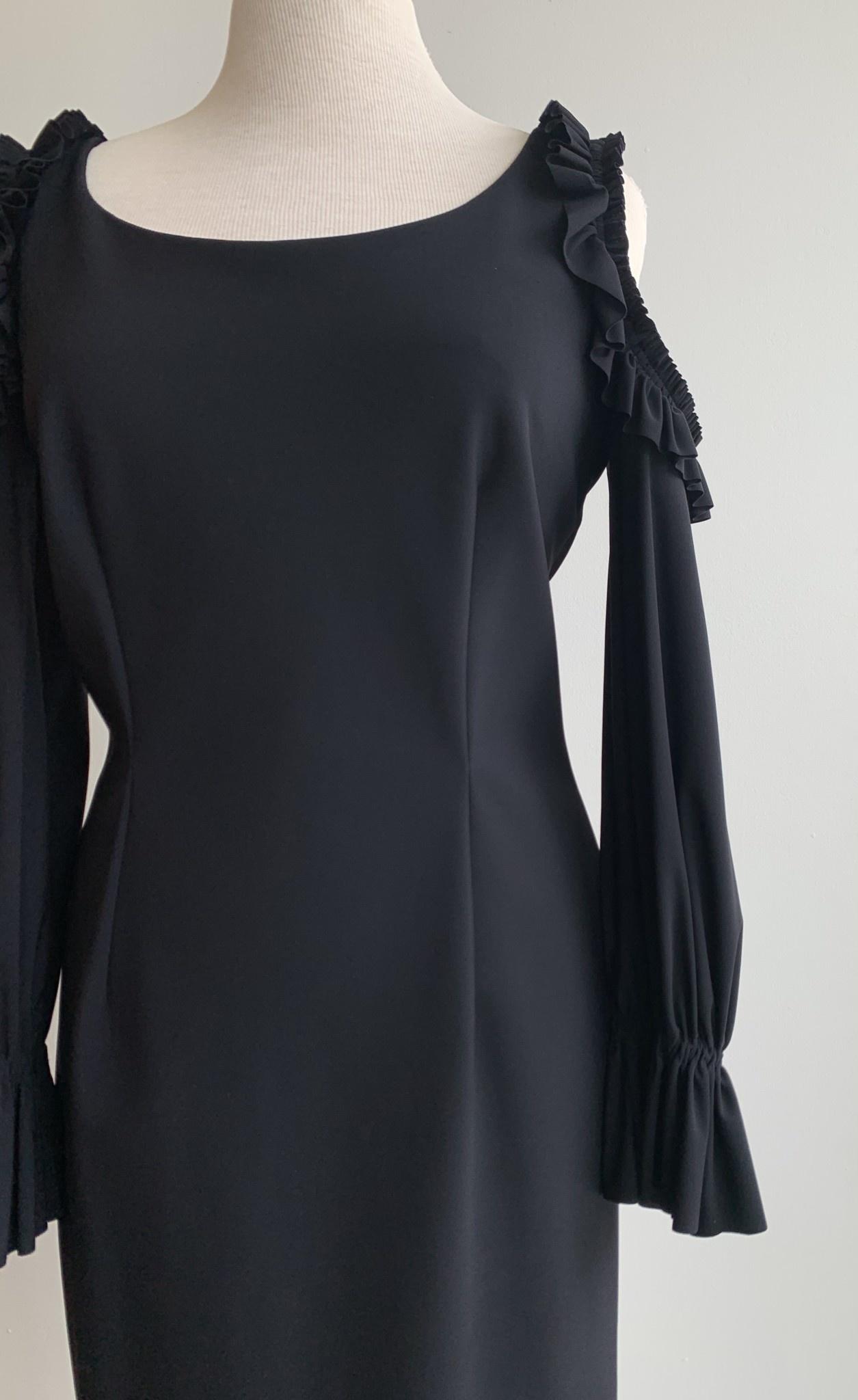 Greta Constantine Cold Shoulder Fitted Dress