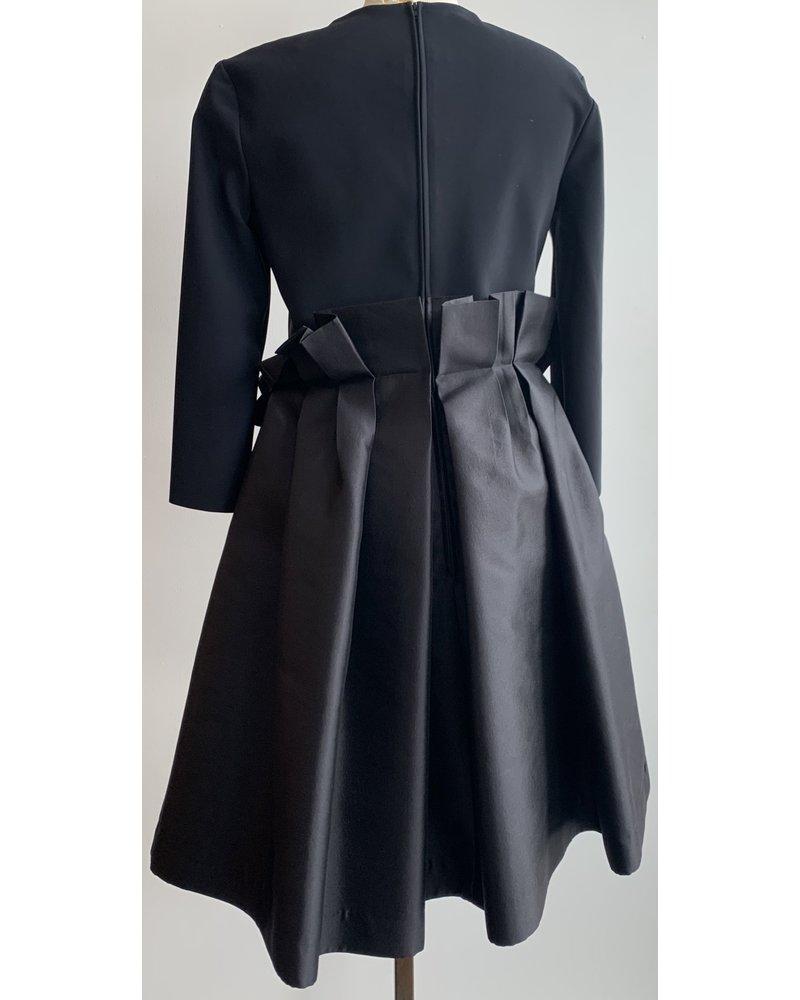 Greta Constantine Round Neck Dress W/ Paper