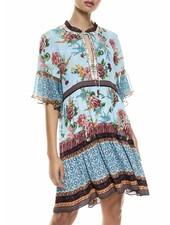 Alice + Olivia Glory Tiered Tunic Dress