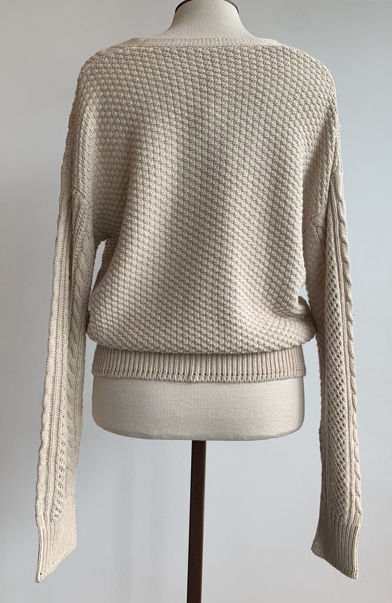 Autumn Cashmere Cable Grandpa Cardigan