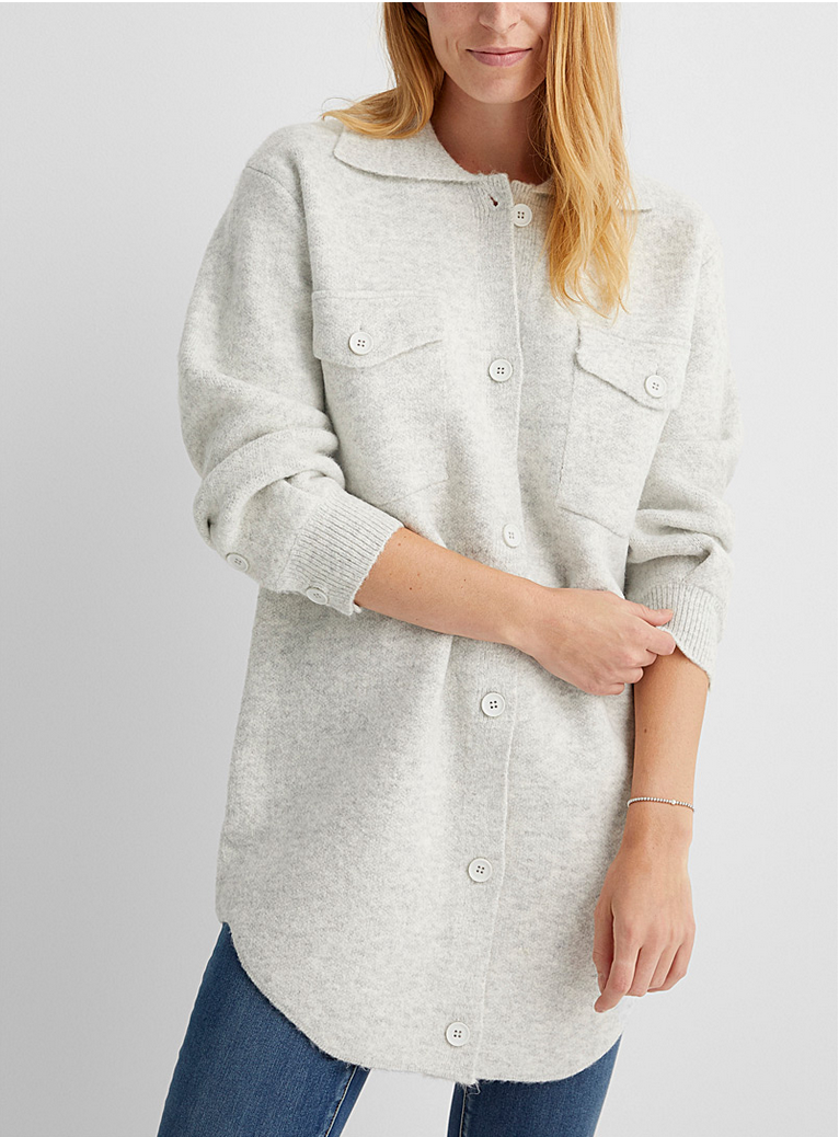 Narcissus Knit Pullover Coat