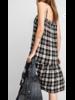 Button Down Plaid Dress