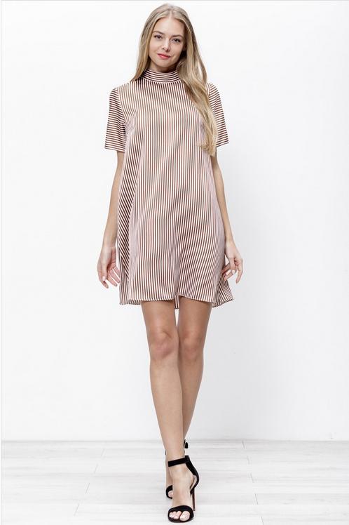 Stripe Shift Dress