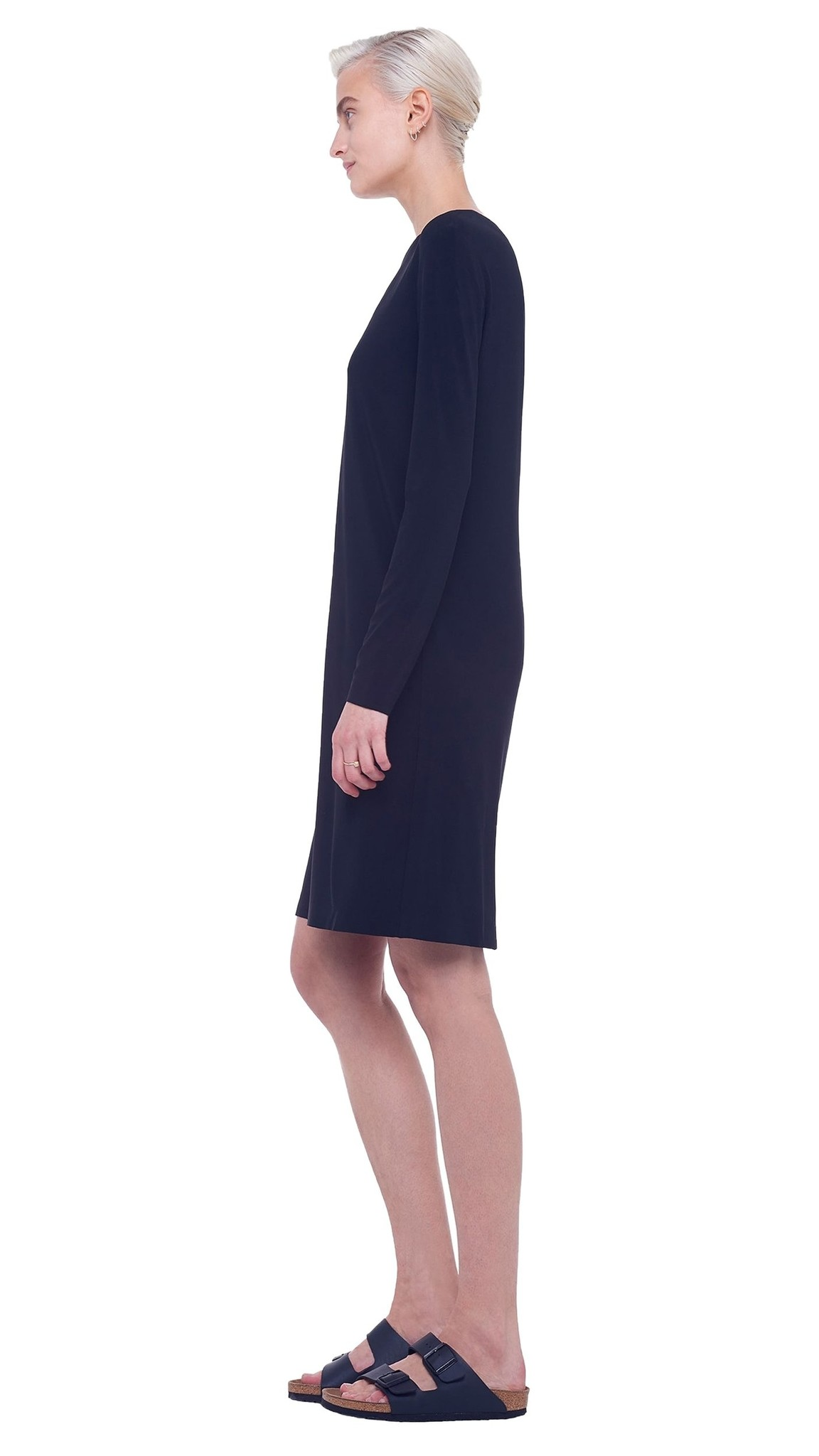 Norma Kamali Crew Dress To Knee