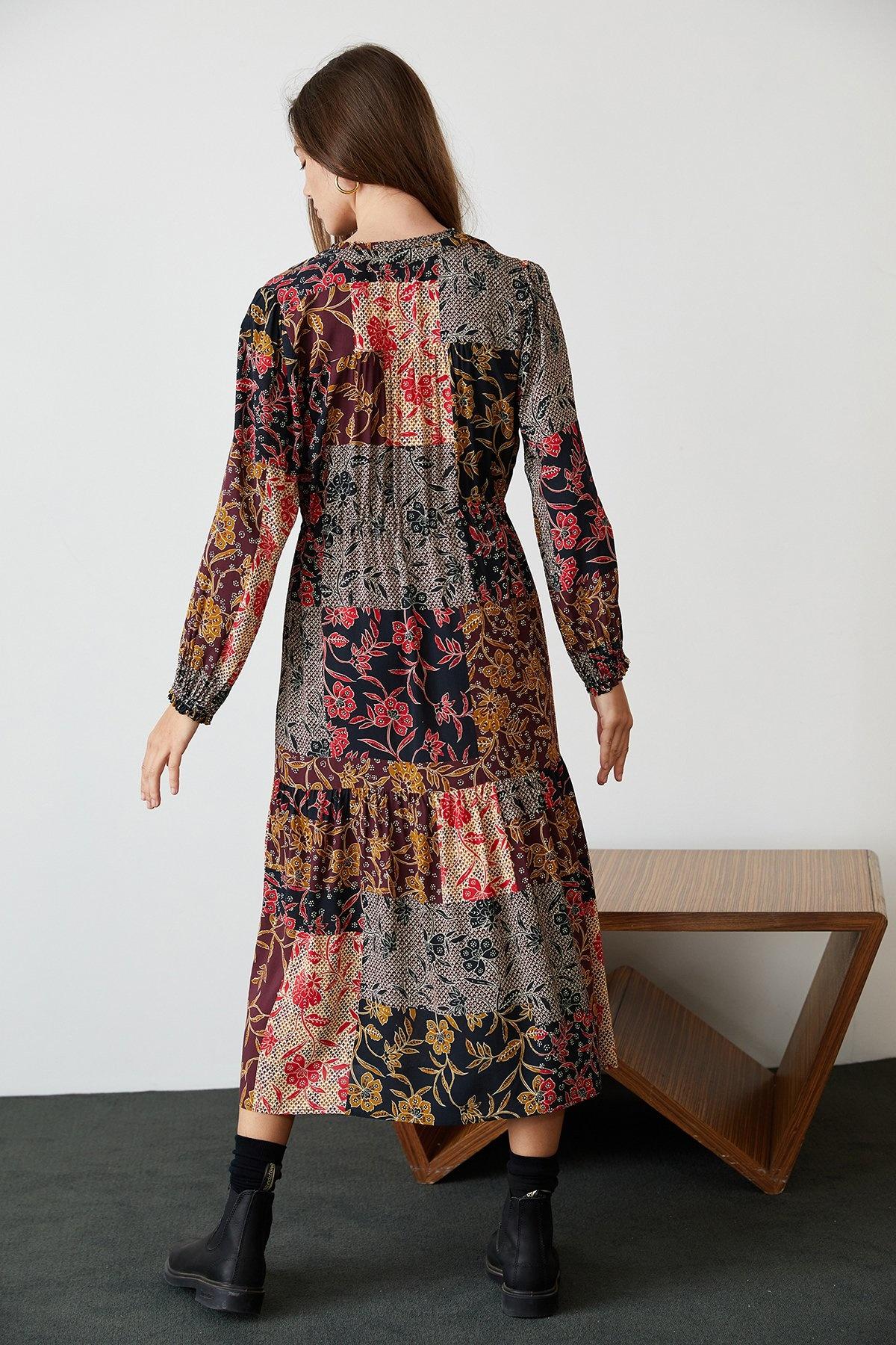 Velvet Tweetie Long Dress