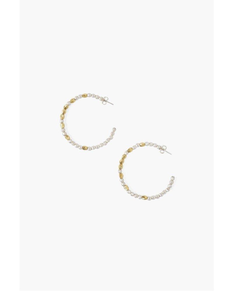 Chan Luu Nugget Hoop Earrings
