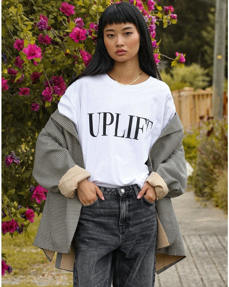 Brunette The Label Uplift Boxy Tee
