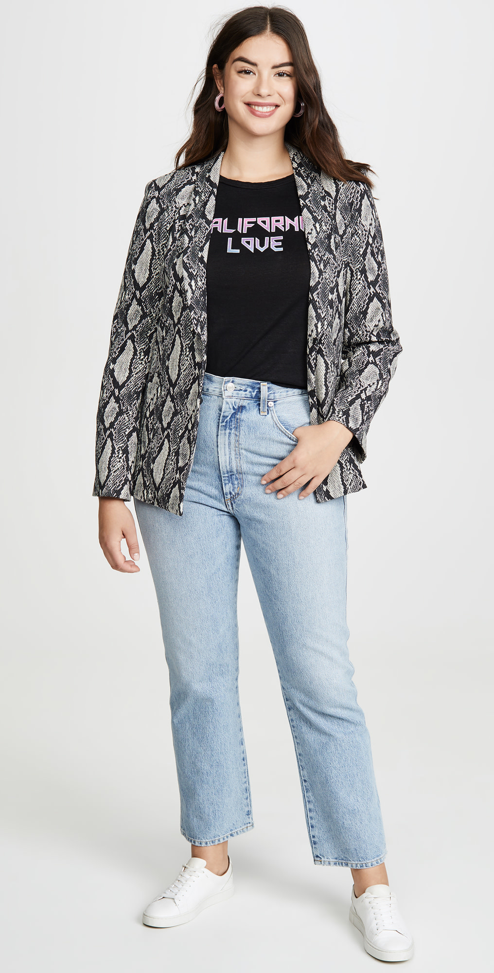 Alice + Olivia Richie Fitted Blazer