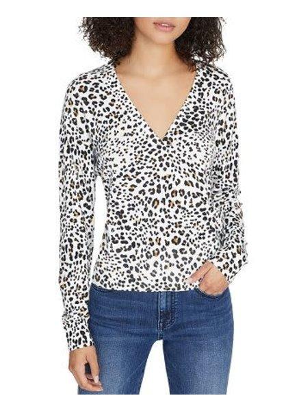 Sanctuary XOXO Sweater/ Leopard/ XL