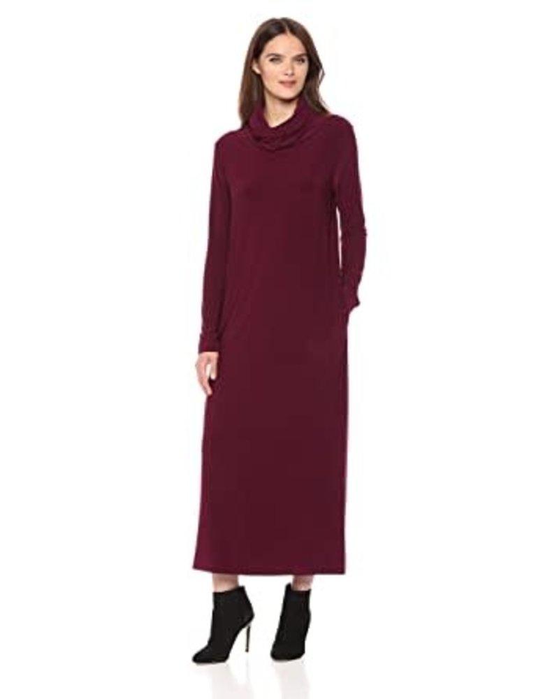 Norma Kamali Oversized Turtleneck Dress