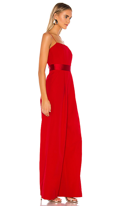 Milly Reina Tie Back Jumpsuit