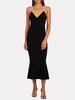 Norma Kamali Fishtail Dress