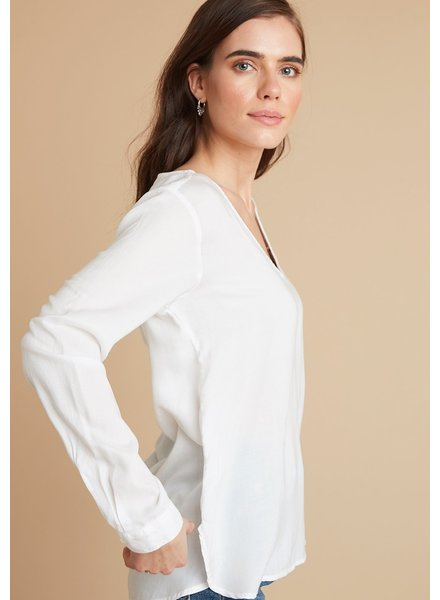 Bella Dahl Long Sleeve V Neck Top