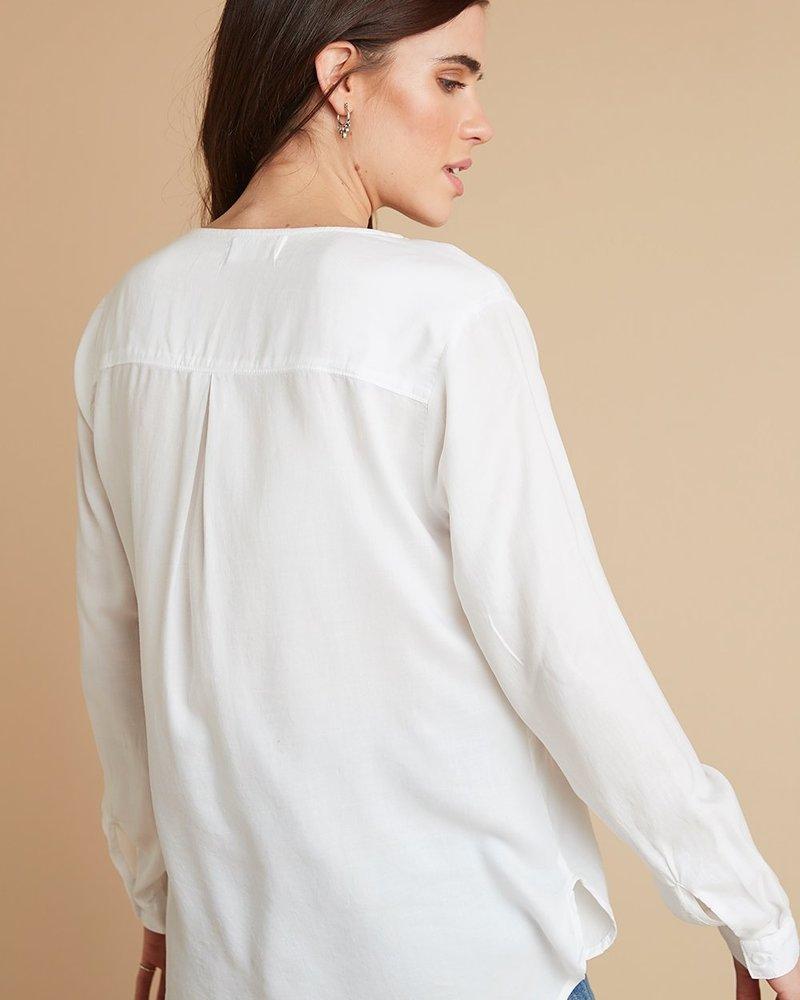 Bella Dahl Long Sleeve V Neck Top