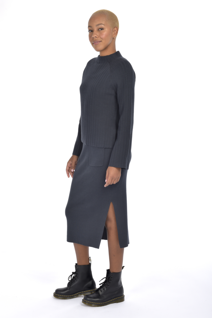 Paper Label Holly Sweater Skirt