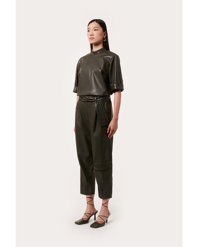 Liviana Conti Ecoleather Pant