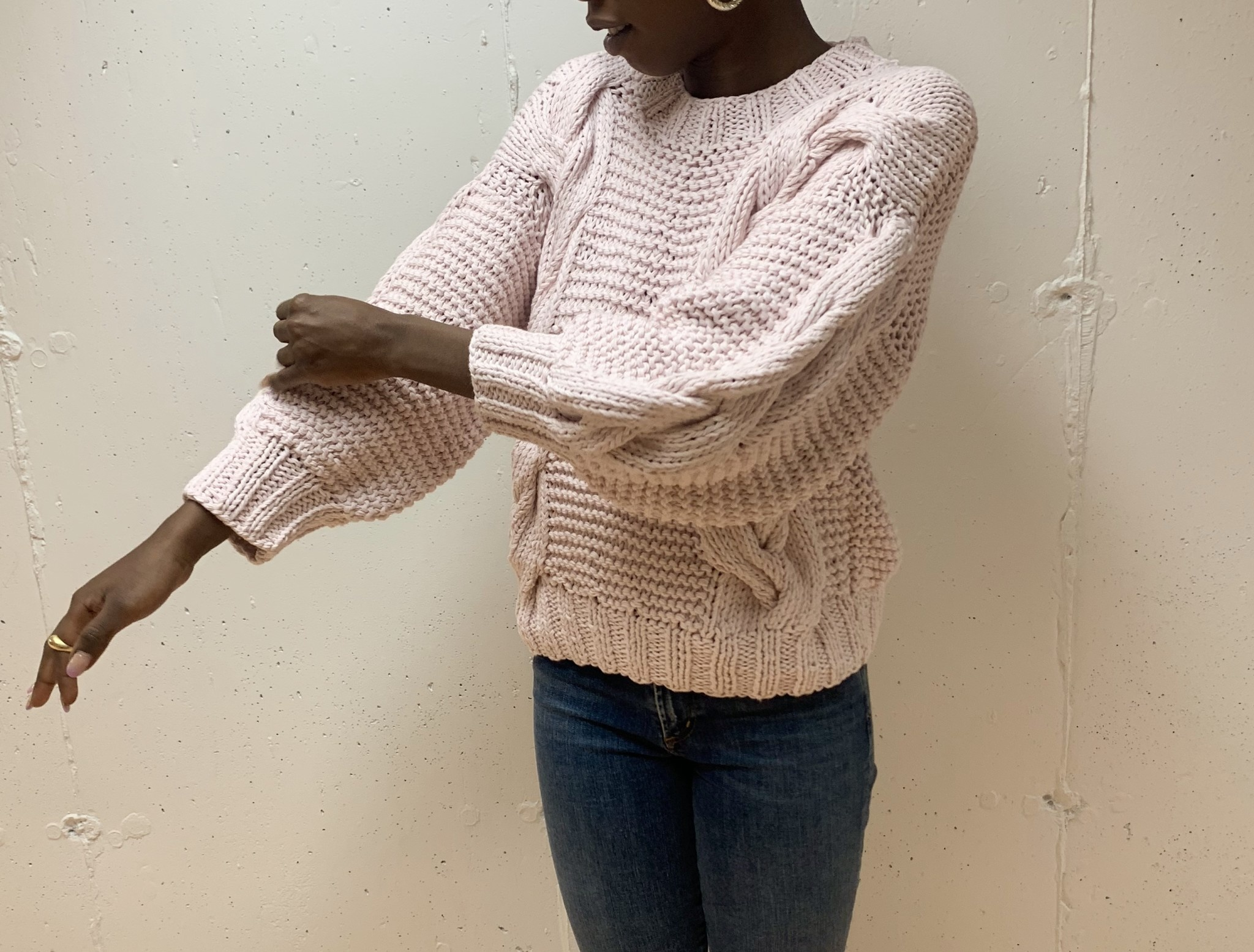 First Born Knitwear Delfi Sweater
