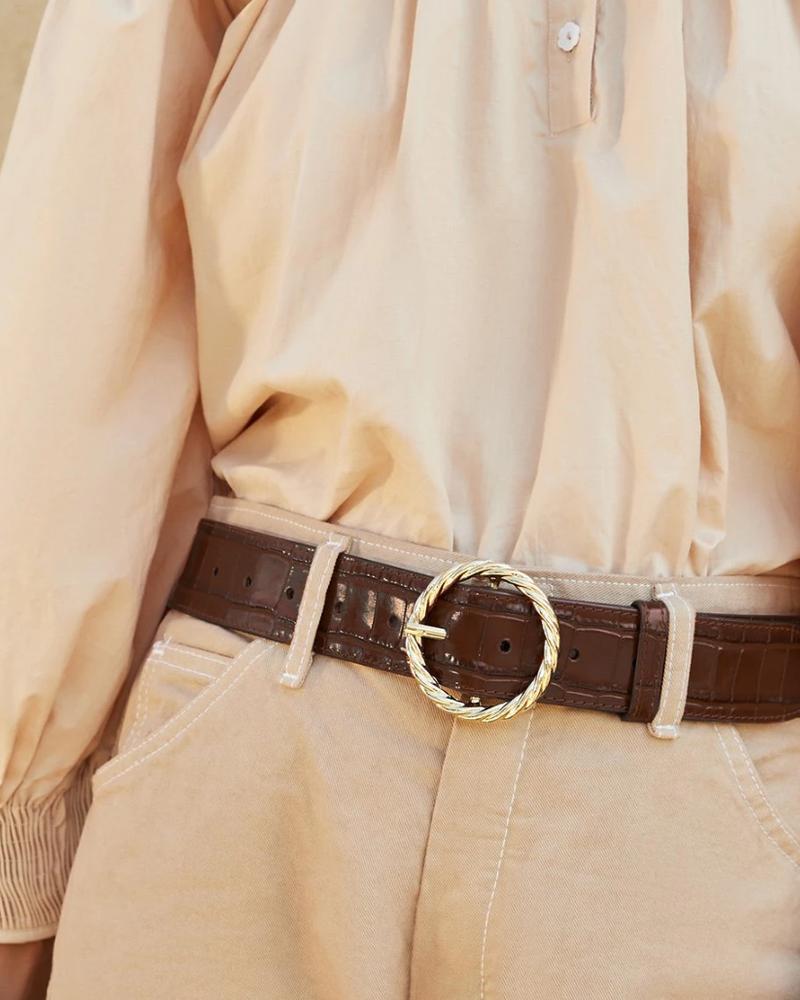 Loeffler Randall Leo Twisted Belt